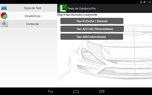 Tests de Conducir Autoescuela - screenshot thumbnail
