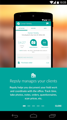 Repsly Field Activity Manager