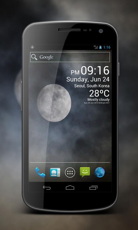 Weather Clock Live- screenshot
