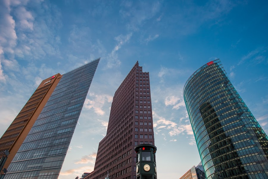 by Manuel Herrmann - Buildings & Architecture Office Buildings & Hotels ( skyscrapers, buildings, germany, architecture )