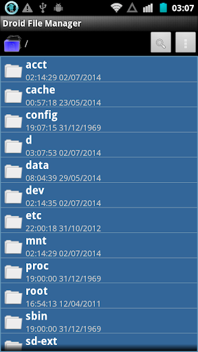 【免費通訊App】Droid File Manager-APP點子