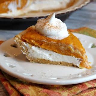 No- Bake Double Layer Pumpkin Pie.