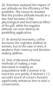 Love & Psychology Facts- screenshot thumbnail