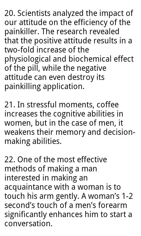 Love & Psychology Facts- screenshot