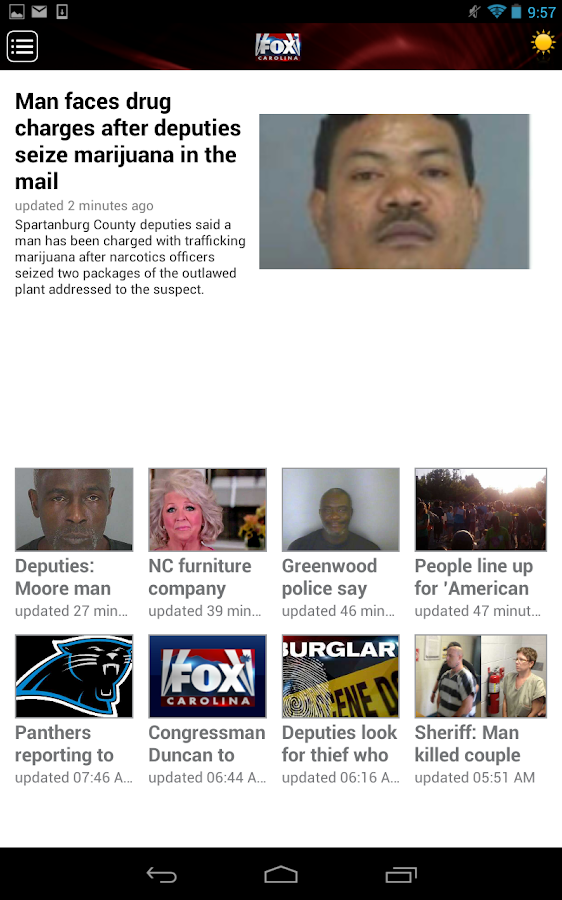 Fox Carolina Mobile - screenshot