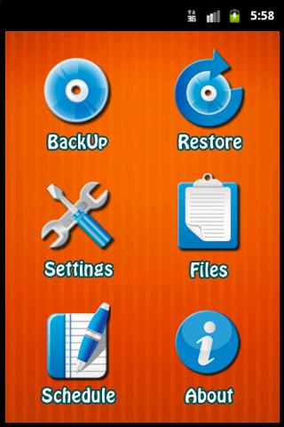 xBackUP- screenshot