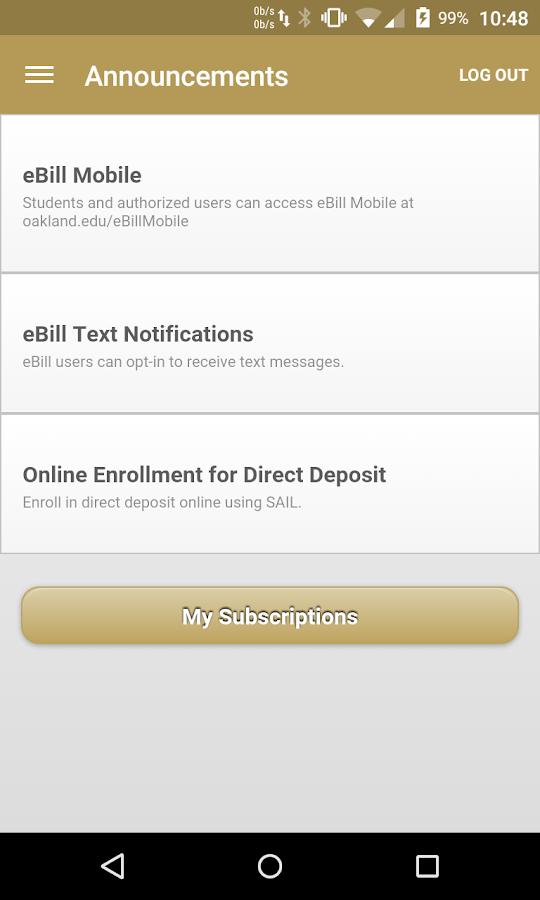 OU MySail - screenshot