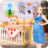 Newborn birth baby games