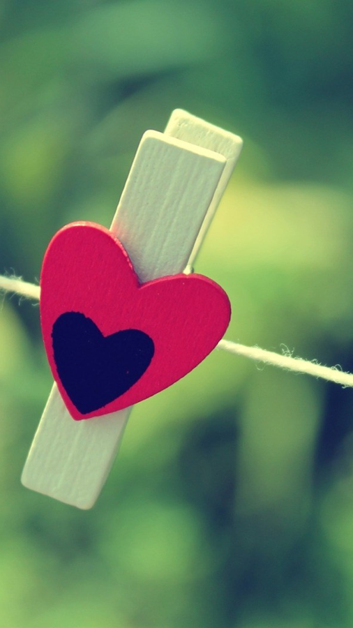 Hearts wallpapers for chat android apps op google play for Picture on wall app