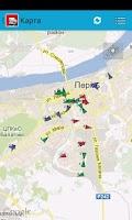 Screenshot of Транспорт Перми