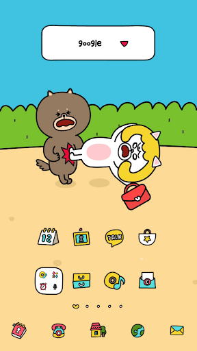 Angry dodol launcher theme
