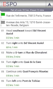 ESPO AdFree - Route Planner screenshot 6
