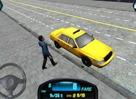 Screenshot of City 3D Duty Taxi Driver