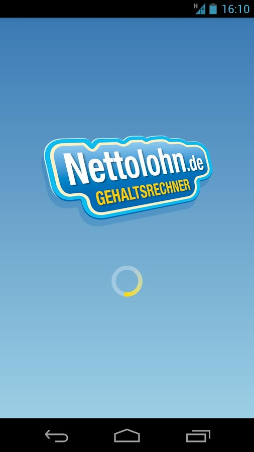 Nettolohn.de- screenshot