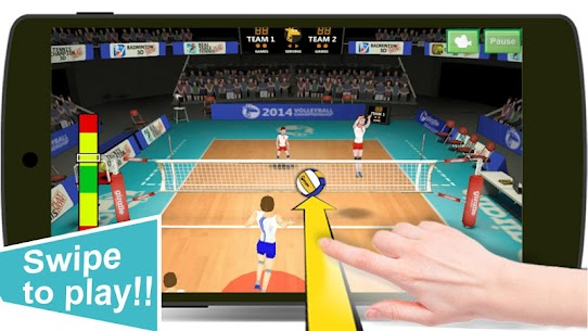 Volleyball Champions 3D MOD 7.1 (Unlimited Money) Apk 2