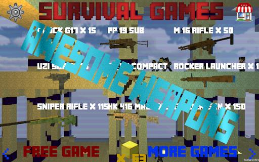 【免費動作App】求生游戏 - 2区 Survival Games-APP點子