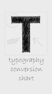 Typography Conversion Chart Screenshot 1