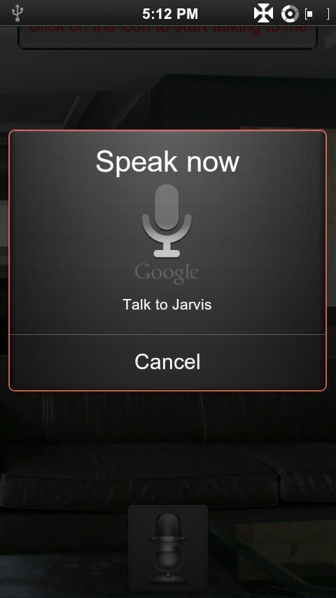 Jarvis Project (Siri) - screenshot