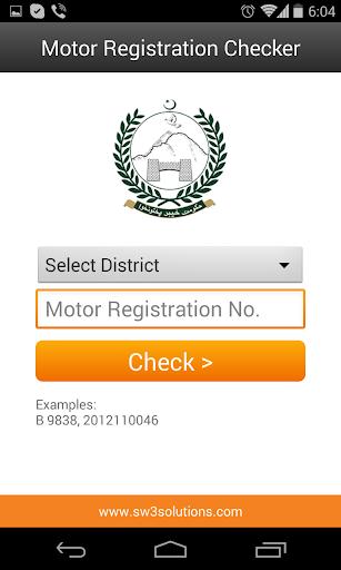 Motor Registration Checker  screenshots 4