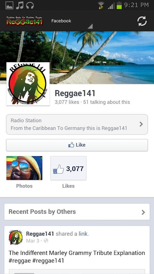 Reggae141 - screenshot