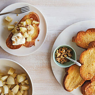 Roasted Apple-Honey Toast