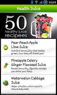 100 Health Juice&Mocktail Lite screenshot
