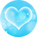 Blue Hearts – Live Wallpaper icon