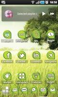 Screenshot of ECOLOGY Green ADW Theme