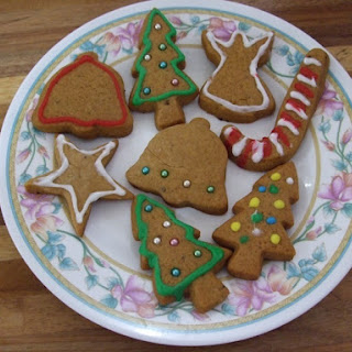 Christmas Honey Biscuits.