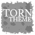 Torn Paper Grey Apex/ADW Theme icon