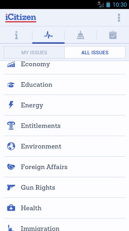iCitizen - screenshot