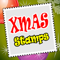 Christmas Stamps Collection icon