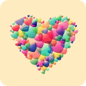 3D Heart Theme Go Launcher Ex icon