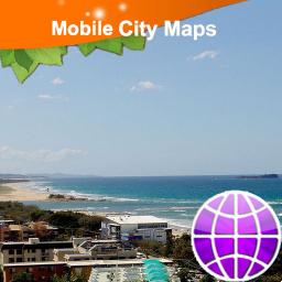 Maroochydore Street Map