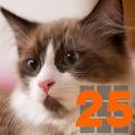 ねこタッチ25 logo