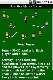 Soccer Practice Drills - U6- screenshot thumbnail