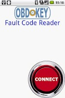 Screenshot of OBDKey Fault Code Reader