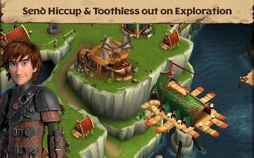 Dragons: Rise of Berk- screenshot thumbnail