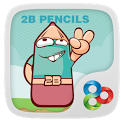 2B Pencil GO Launcher Theme icon