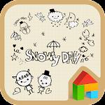 Doodle dodol launcher theme