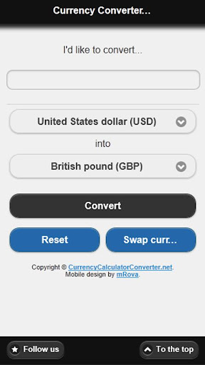 Currency Converter Realtime