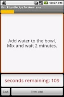Screenshot of Pan Pizza Dough Recipe (free)