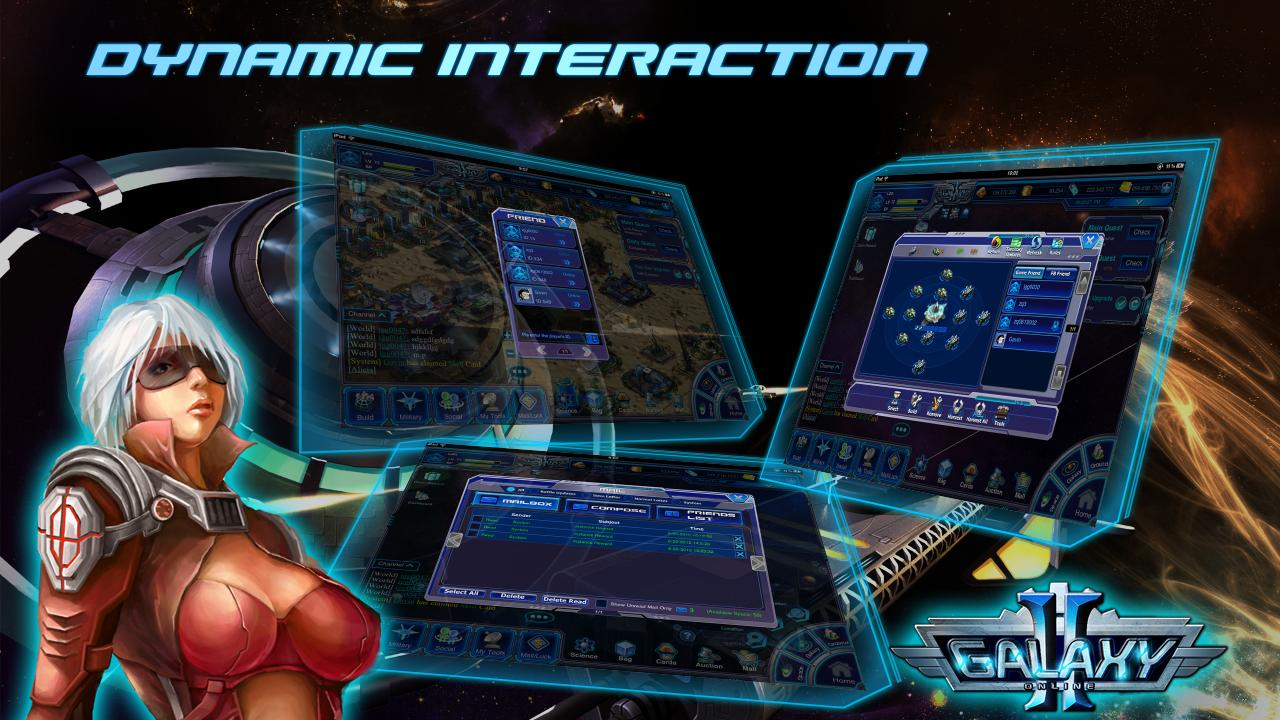 Galaxy Online 2 - screenshot