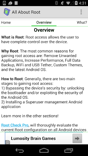 Root for Android - All About  screenshots 2