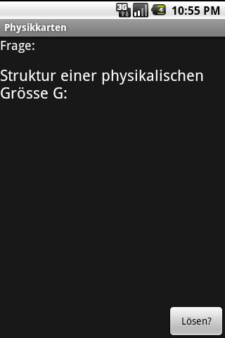 PhysikKartenApp - screenshot
