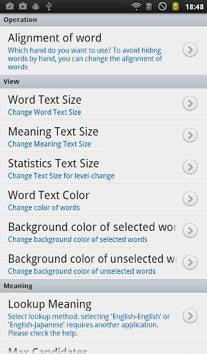 English Vocabulary List 1.0 Windows u7528 10