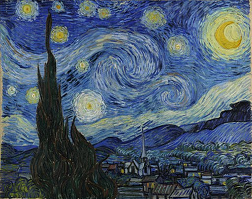 The Starry Night, Vincent van Gogh