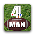 4 Man Flag Football Playbook logo