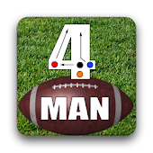 4 Man Flag Football Playbook