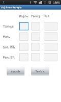 Screenshot of YGS / LYS Puanım?